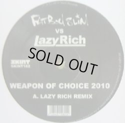 画像1: FATBOY SLIM V'S LAZY RICH / WEAPON OF CHOICE 2010 (SKINT) ★