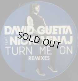 画像1: DAVID GUETTA FEAT. NICKI MINAJ / TURN ME ON (GUETTATURN008) 完売中