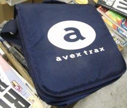 画像1: avex trax レコードバッグ Y2?
