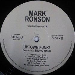 画像1: %% Mark Ronson Feat. Bruno Mars / Uptown Funk (MARKUPTOWN001) NNN19-1-1