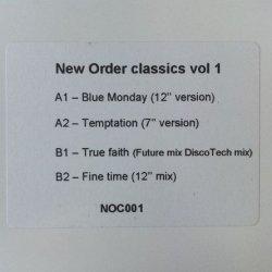 画像1: NEW ORDER / NEW ORDER CLASSICS VOL.1 (NOC001)