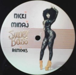 画像1: %% NICKI MINAJ / SUPER BASS (NICKISB001) NNN186-1-1