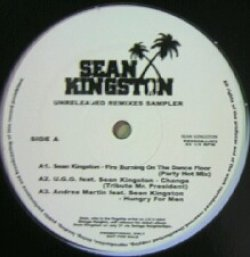 画像1: SEAN KINGSTON / UNRELEASED REMIXES SAMPLER