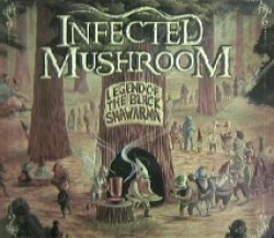 画像1: $$ INFECTED MUSHROOM / LEGEND OF THE BLACK SHAWARMA (CD) FARM-0204